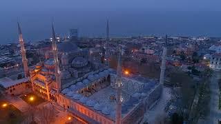 Sultan Ahmet Camii ve Ayasofya, Gün Doğumu