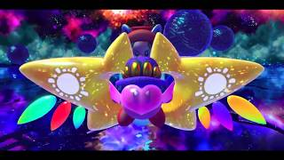 Kirby Star Allies (Adeleine, Daroach, & Dark Meta Knight) Final Boss Void Termina