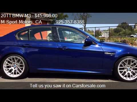 2011 Bmw M3 M3 4dr Sedan Competition Pkg For Sale In Walnu Youtube
