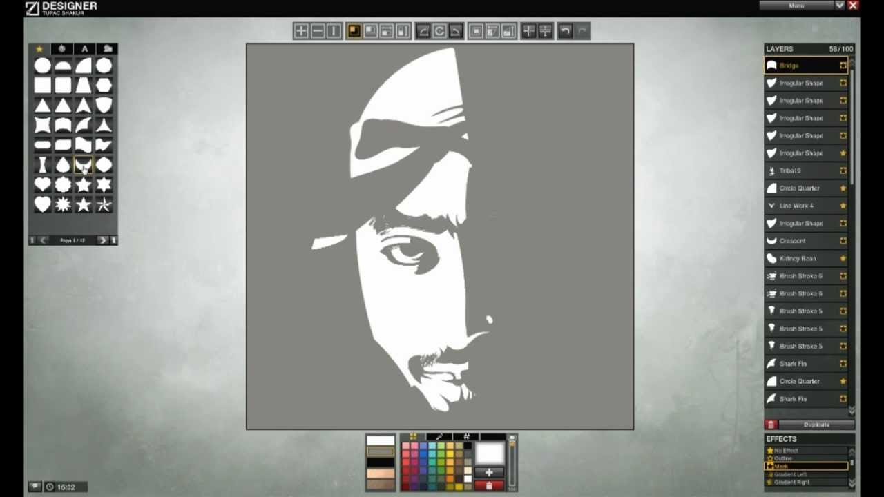 APB Tupac Shakur Symbol Creation