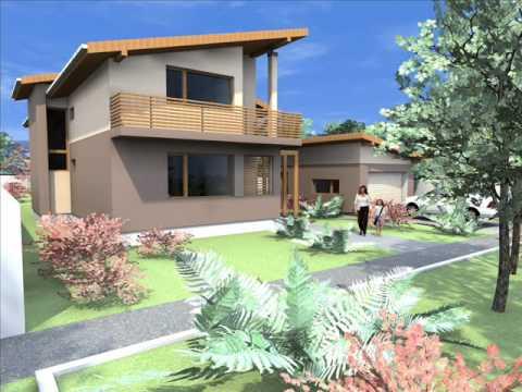 Proiect casa moderna casa moderna arad casa bucuresti for Casa moderna tunisie