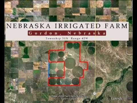 Nebraska Irrigated Farm - 3D Virtual Map Tour