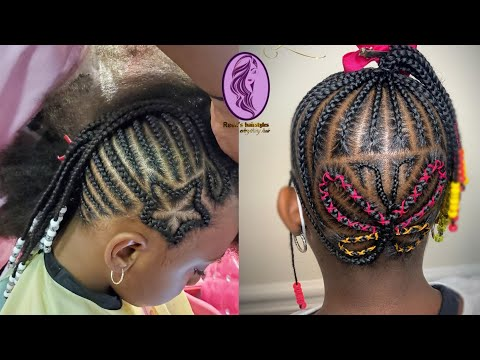 Braided Hairstyles: Beautiful Cornrows Braids Hairstyles For Kids