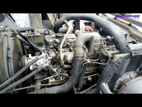 UD(Nissan Diesel) FE6(Turbocharged) Engine View