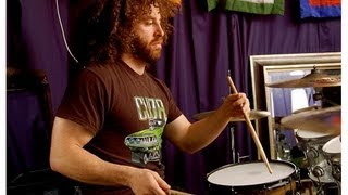 Mars Volta Drummer David Elitch back when he was only 17
