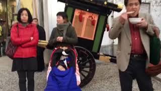 奈良公園🦌始まりました!おん祭り2017年12月15日 御湯立式 大宿所 thumbnail
