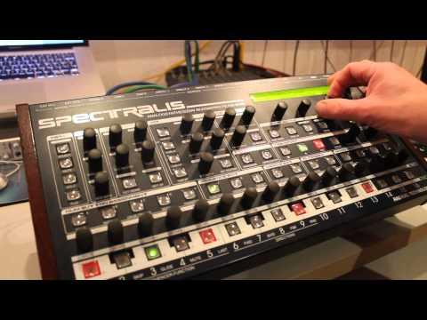 Spectralis flexible Drum Programming