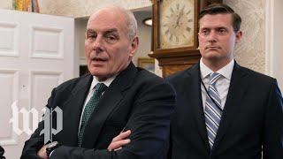 How John Kelly's stance on Rob Porter's ousting could foreshadow his own