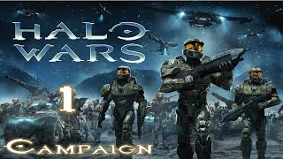 Halo Wars Campaign Mission 1 Alpha Base