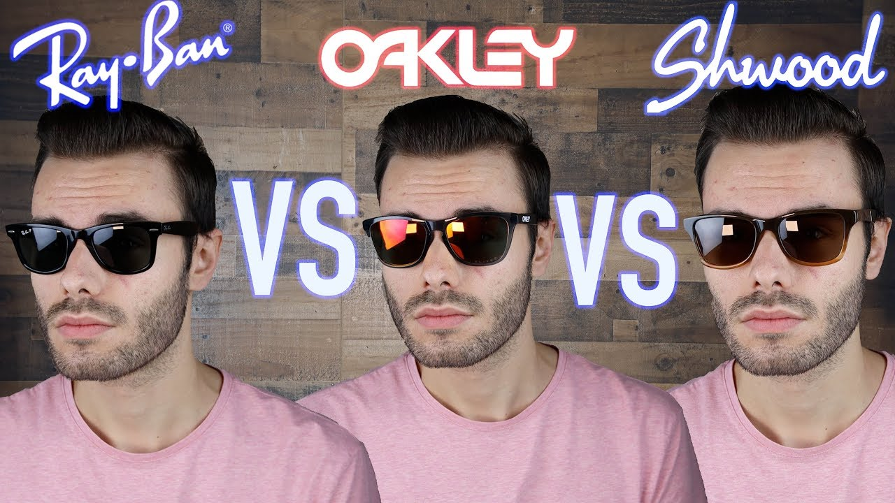 836d034985a Ray-Ban Wayfarer vs Oakley Frogskins vs Shwood Canby - YouTube