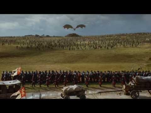 Game of Thrones: Season 7 Soundtrack - Field of Fire pt 1 EP 04 Dothraki & Dragon attack