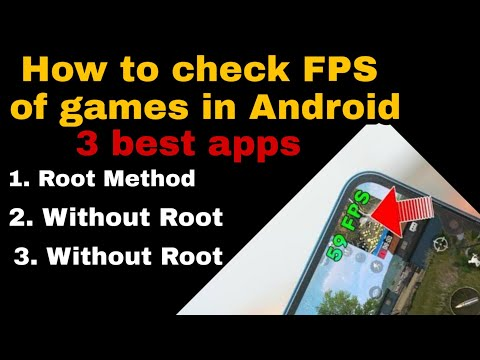 FPS COUNTER /METER FOR ANDROID | THREE EASY METHODS 2019