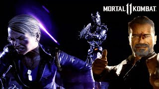 MK11 TERMINATOR WITH SLOW MO & REVERSE EFFECTS (4K, HIGH FRAME RATE & HDR)