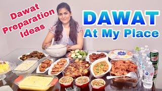 ржЖржорж╛рж░ ржмрж╛рж╕рж╛рзЯ ржЬржоржЬржорж╛ржЯ ржжрж╛ржУрзЯрж╛ржд | How To Do DAWAT Preparation For Guests | Bengali Food Vlog