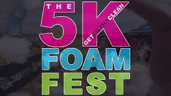 5k Foam Fest 2018 - All Obstacles - Charlotte NC - St Patrick's Day
