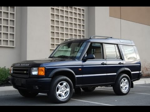 2000 Land Rover Discovery 2 Oxford Blue Hd Video