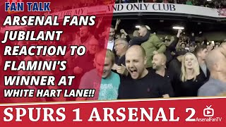 Arsenal Fans Jubilant Reaction To Flamini