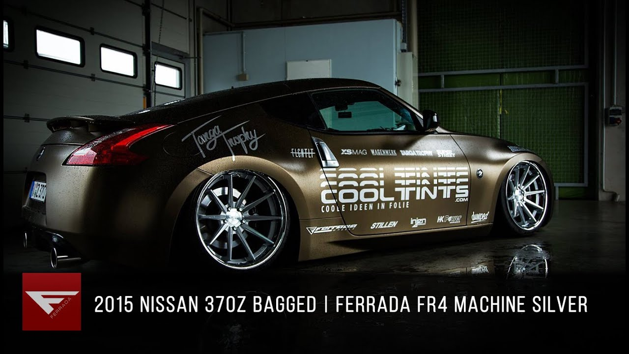 2015 Nissan 370Z | Ferrada FR4 Machine Silver / Chrome Lip ...