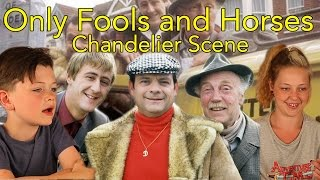 Only Fools and Horses Reaction Chandelier Scene- Head Spread
