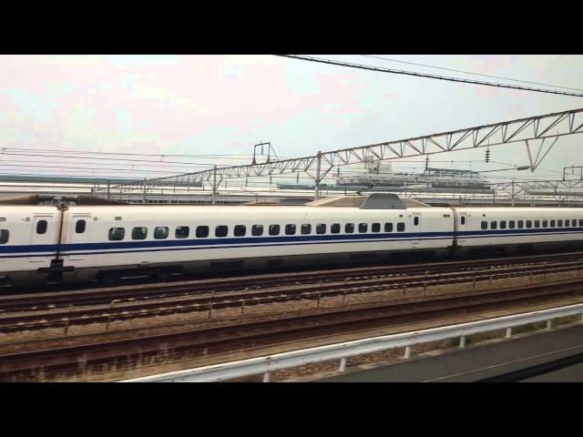Shinkansen between Osaka and Kyoto, May 2015