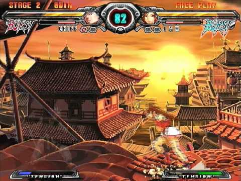 [PS2] Guilty Gear XX Accent Core Plus Gameplay