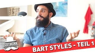 Welcher Bartstyle passt zu dir - Teil 1/3 | BARTMANN