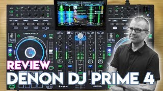 Denon DJ Prime 4 Review & Demo - Is this the end of laptop DJing?