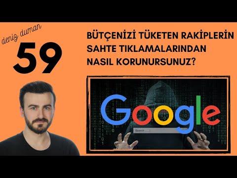 Google Ads Bütçenizi Rakiplerin Sahte Tıklamalarından Nasıl Korursunuz? | 2021 F
