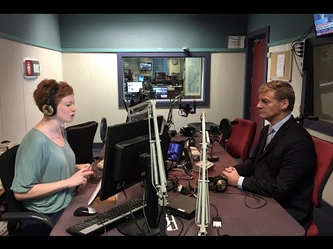 Bill English on Morning Report May 8th 2017