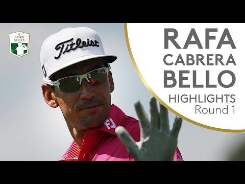 Rafa Cabrera Bello Highlights   Round 1   2018 Italian Open