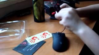 unboxing 1 a4tech gun3 v3 gigabyte ghost gaming series