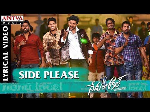 Side Please Full Song With English Lyrics | Nenu Local | Nani, Keerthy Suresh | Devi Sri Prasad