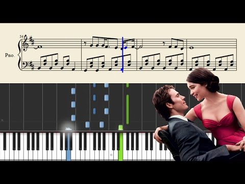 Imagine Dragons - Not Today (Me Before You) - Piano Tutorial + Sheets