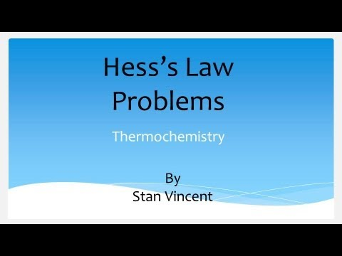 hess law Hess' law lab aim: to determine the enthalpy change for the decomposition of sodium hydrogen carbonate into sodium carbonate.