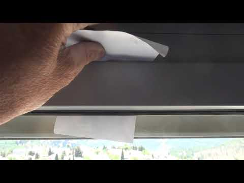 איטום לקוי בחלון ציר (דריי קיפ)