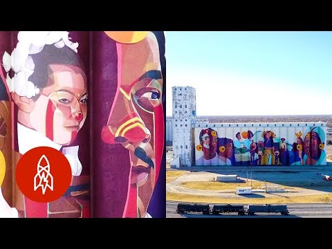Painting North America's Largest Mural