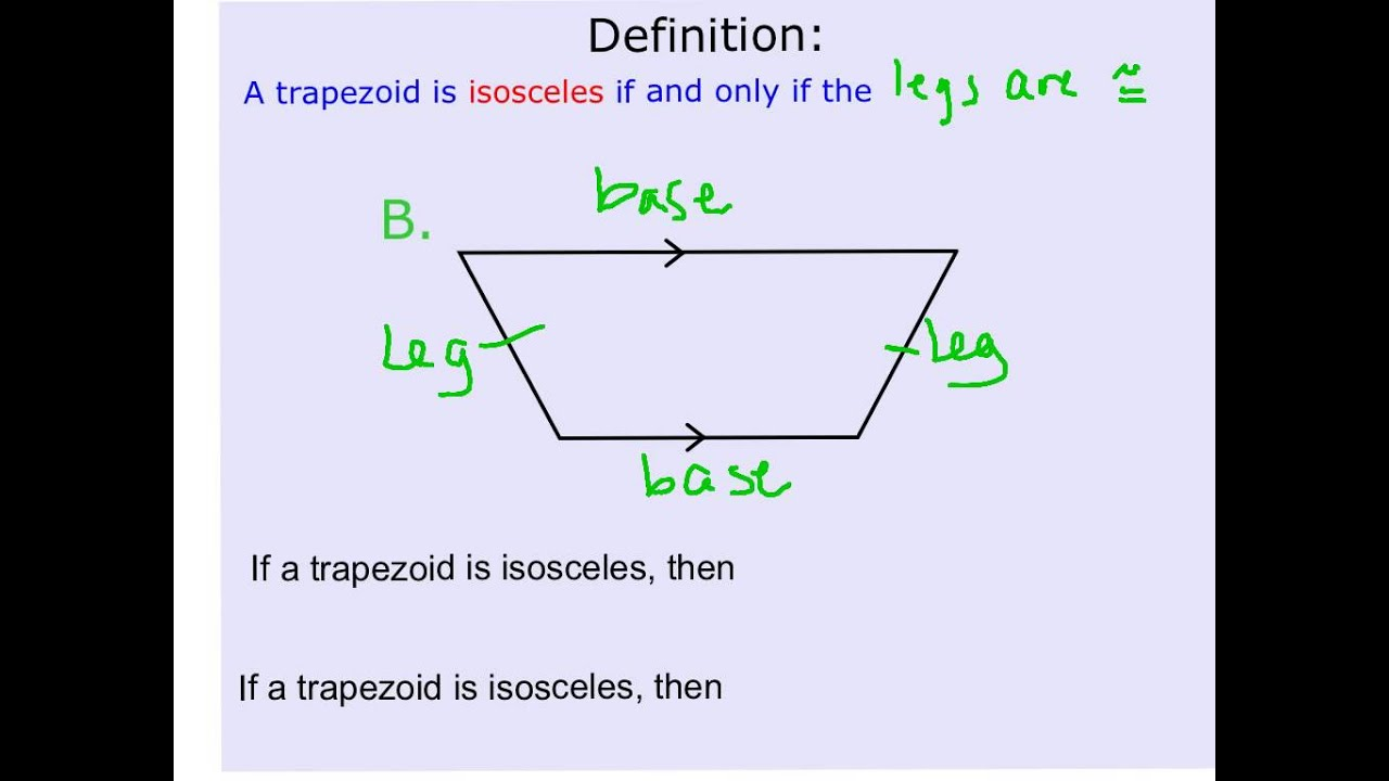 worksheet Properties Of Trapezoids geometry lesson 5 trapezoids lessons tes teach properties of trapezoids