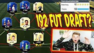 FIFA 17 - 192 FUT DRAFT?? + 4 EXTREM KRANKE TOTYS! ⛔️😝⛔️ - ULTIMATE TEAM (DEUTSCH)