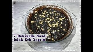 Mikrodalgada 7 Dakikada Islak Kek / Browni Nasıl Yapılır ?