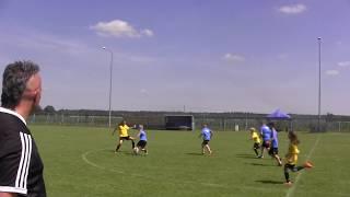 CZ10-FC Yellow Junior-Ogólnopolski Turniej Jarocin Cup 2019-III meczyk z ŁKS Łochów I Tercja