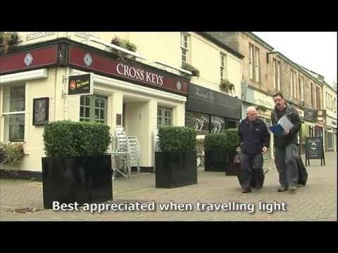 West Highland Way baggage transfer company Travel Lite