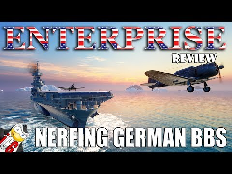 World of Warships - Enterprise Review - NERFING German Battleships
