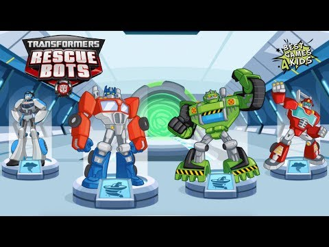 Transformers Rescue Bots: Disaster Dash Hero Run   7 RESCUE BOTS in Mission! By Budge
