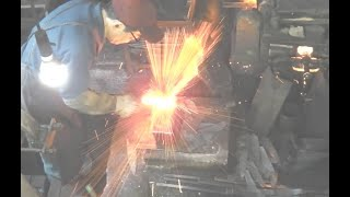 中新田打刃物 Japanese Knife Making by Michio Ishikawa[the Fourth] santoku kitchen knives