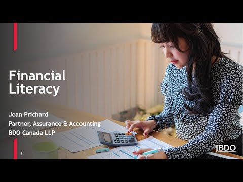Financial literacy for NPO boards | BDO Canada