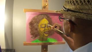 SK Paints GloZell Portrait 2 of 3
