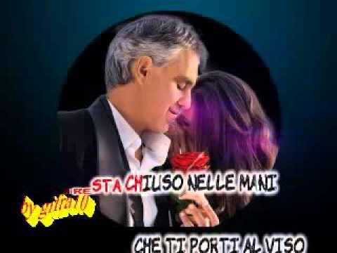 Andrea Bocelli - Sogno (karaoke fair use)