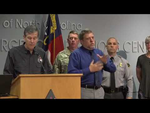 """Roy Cooper: """"Prepare for possible power outages"""" from Hurricane Michael"""