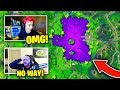 STREAMERS REACT TO THE *CUBE EVENT* IN LOOT LAKE! | Fortnite Battle Royale