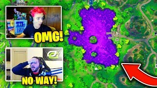 STREAMERS REACT TO THE *CUBE EVENT* IN LOOT LAKE!   Fortnite Battle Royale